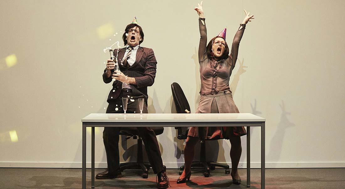 Entreprise de Jacques Jouet, Rémi De Vos et Georges Perec, mise en scène de Anne-Laure Liégeois - Critique sortie Théâtre