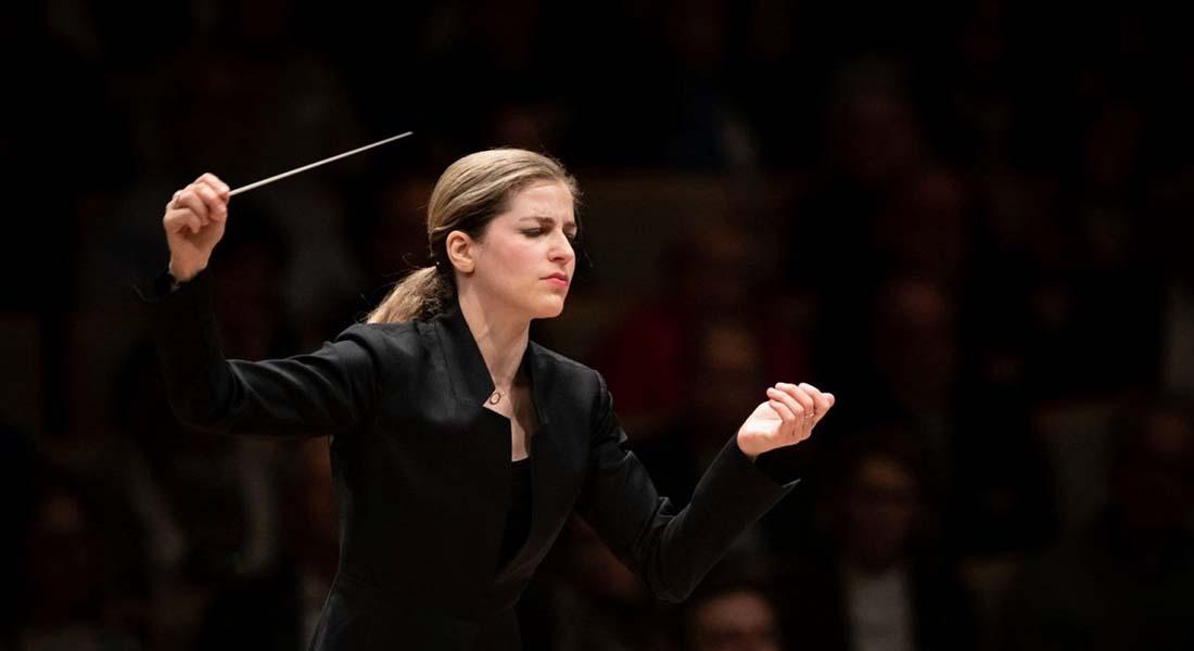 Karina Canellakis dirige l'Orchestre Philharmonique de Radio France. Beethoven III - Critique sortie Classique / Opéra saint denis Basilique Saint-Denis