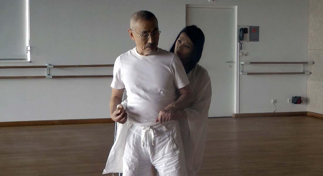 Le Tambour de soie de Kaori Ito et Yoshi Oïda - Critique sortie  Paris Le Centquatre