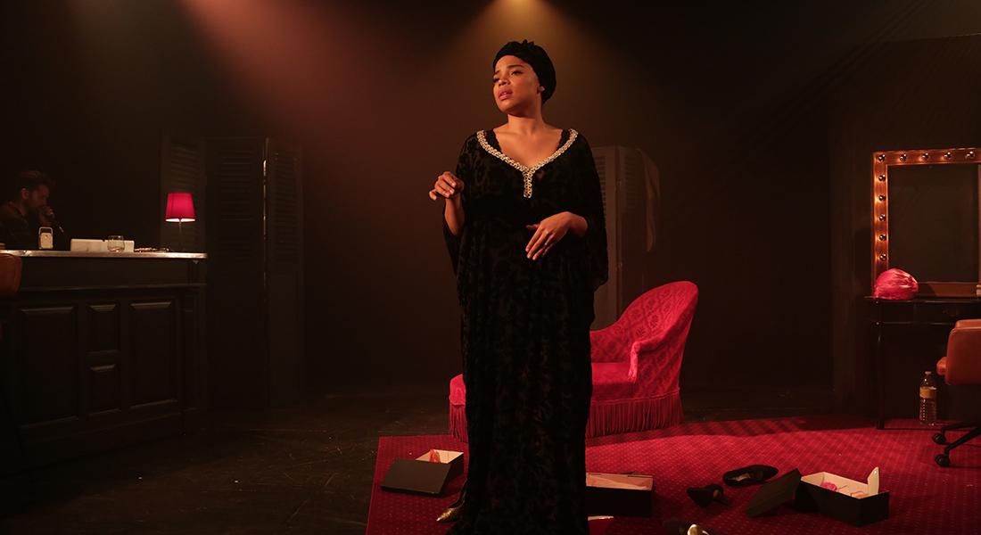 Miss Nina Simone d'après Gilles Leroy, mise en scène de Anne Bouvier - Critique sortie Théâtre Paris Théâtre La Scène Parisienne