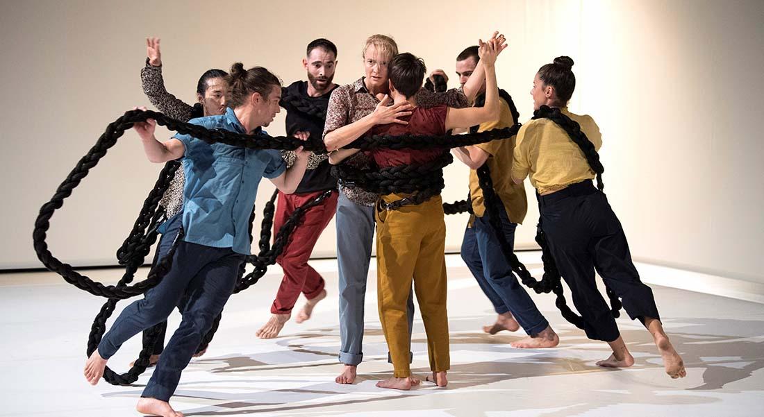 Jann Gallois avec Samsara donne corps à sa philosophie bouddhiste - Critique sortie  Créteil La Maison des Arts de Créteil