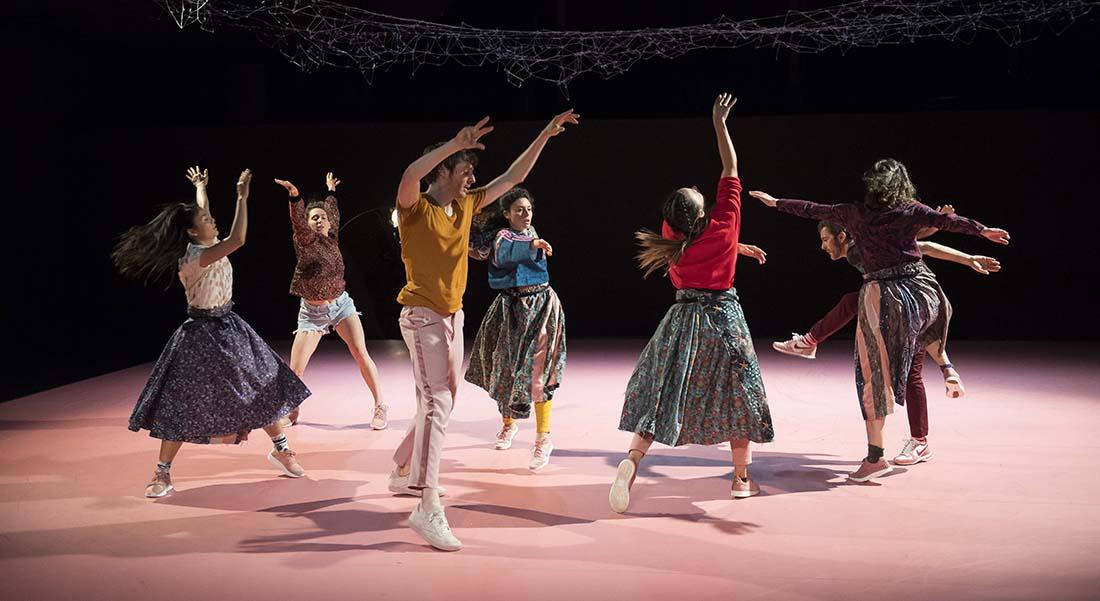 Danse de tous les sens le « premier » festival de Chorège en tant que Centre de Développement Chorégraphique National - Critique sortie  Falaise Chorège