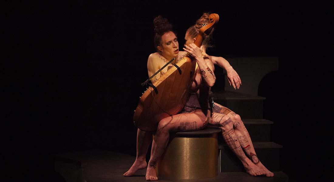 Symphonia Harmoniæ Cælestium Revelationum de François Chaignaud et Marie-Pierre Brébant - Critique sortie Danse Annecy Bonlieu - Scène Nationale d'Annecy