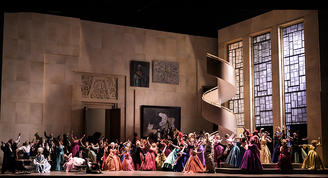 En replay sur votre écran, Manon de Jules Massenet, mise en scène de Vincent Huguet, direction Dan Ettinger - Critique sortie Classique / Opéra Paris Opéra Bastille