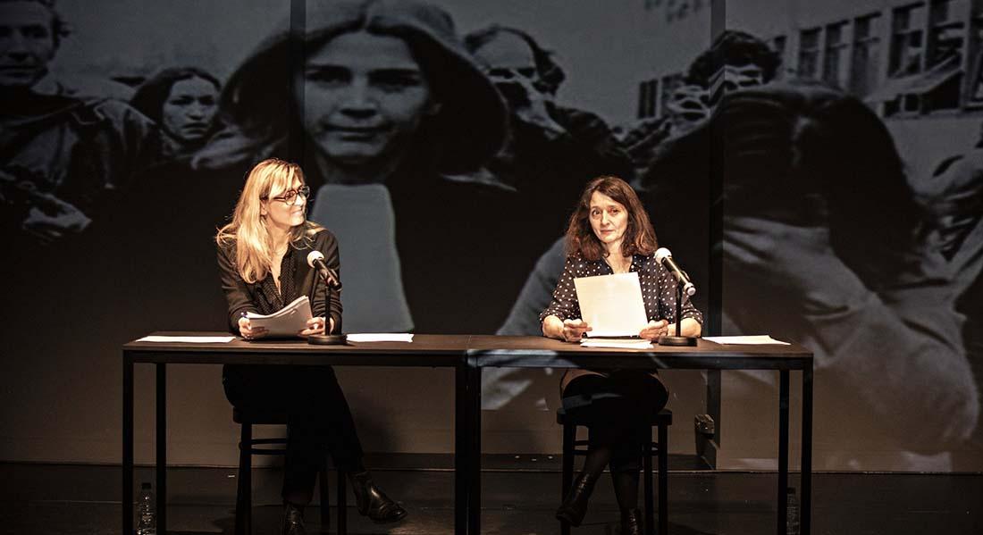 Je ne serais pas arrivée là si… d'Annick Cojean, mise en scène de Judith Henry - Critique sortie Théâtre Paris Théâtre du lycée Jacques Decour