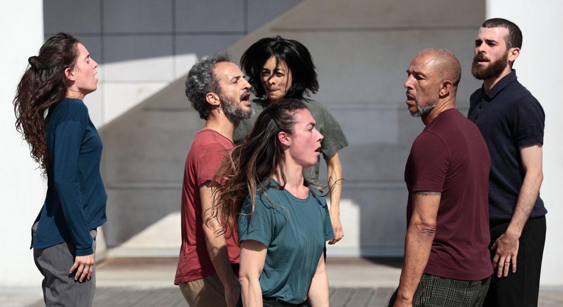 Avec Gouâl, Filipe Lourenço revisite et actualise l'allaoui - Critique sortie Danse Paris Lycée Jacques-Decour