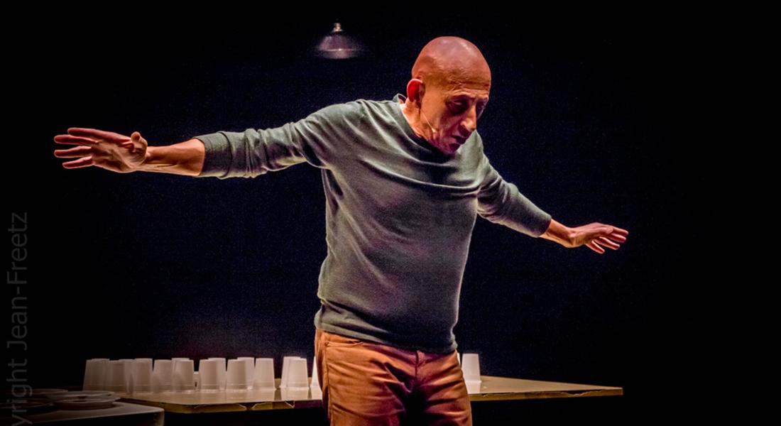 Une Vie de Gérard en Occident d'après François Beaune, mise en scène et jeu Gérard Potier - Critique sortie Théâtre Paris Théâtre de Belleville