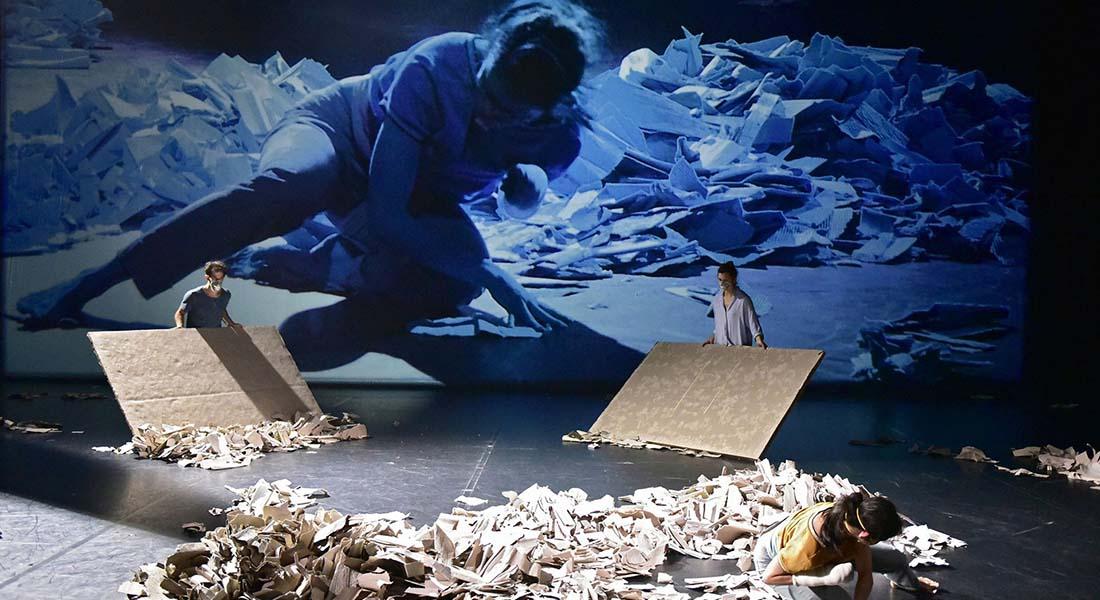 Le Chant des ruines de Michèle Noiret - Critique sortie Danse Paris Chaillot - Théâtre national de la danse