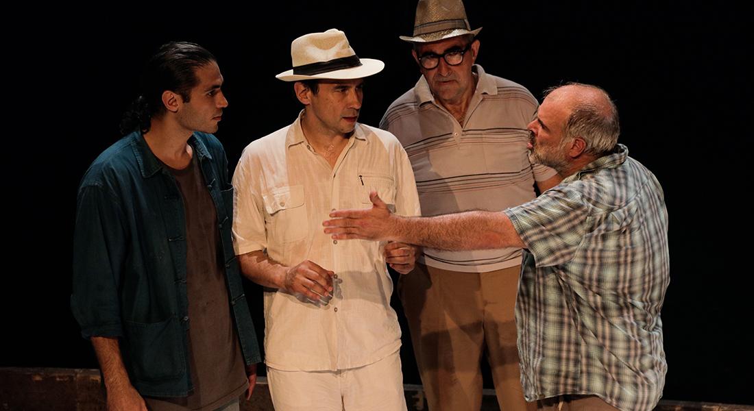 Les Pieds tanqués de Philippe Chuyen - Critique sortie Théâtre Paris Théâtre Douze