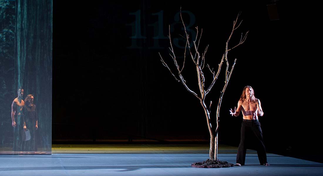 The TREE (Fragments of poetics on fire) de Carolyn Carlson - Critique sortie Danse Paris Chaillot - Théâtre national de la danse