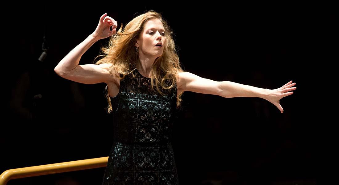La soprano et cheffe d'orchestre Barbara Hannigan, artiste en résidence à Radio-France - Critique sortie Classique / Opéra Paris Studio 104 - Maison de la Radio