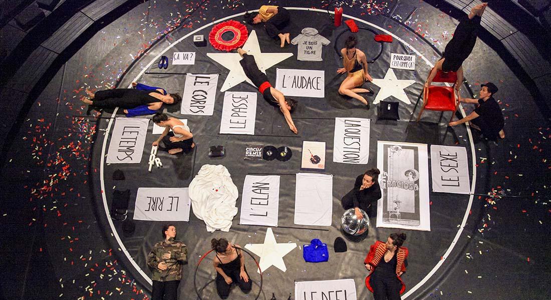 Circus remix, circographie Maroussia Diaz Verbèke - Critique sortie  La Plaine Saint-Denis Académie Fratellini