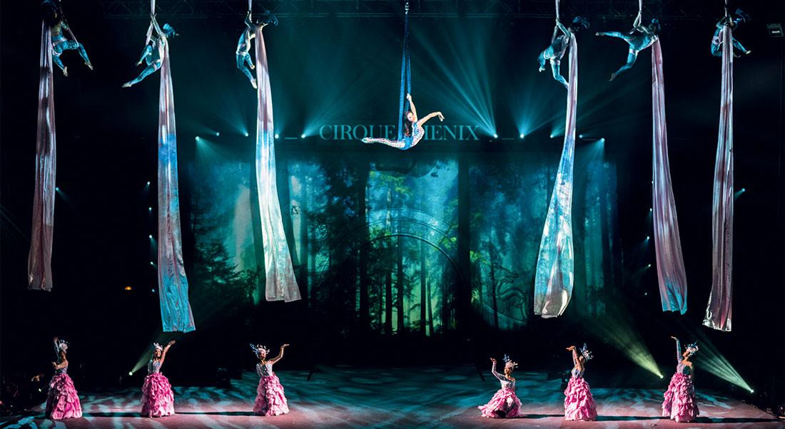 Gaïa, création et mise en scène Alain M. Pacherie - Critique sortie  Paris Cirque Phénix