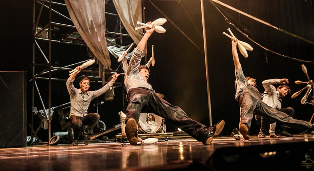 Machine de cirque de Vincent Dubé - Critique sortie  Paris La Scala Paris