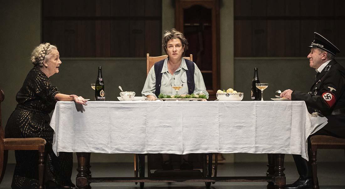 Avant la retraite de Thomas Bernhard, mise en scène d'Alain Françon - Critique sortie Théâtre Paris Théâtre de la Porte Saint-Martin