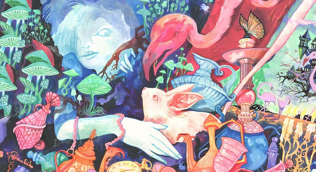 Alice glisse, d'après Lewis Caroll, texte et mise en scène de Rita Pradinas - Critique sortie  Annecy Bonlieu - Scène Nationale d'Annecy