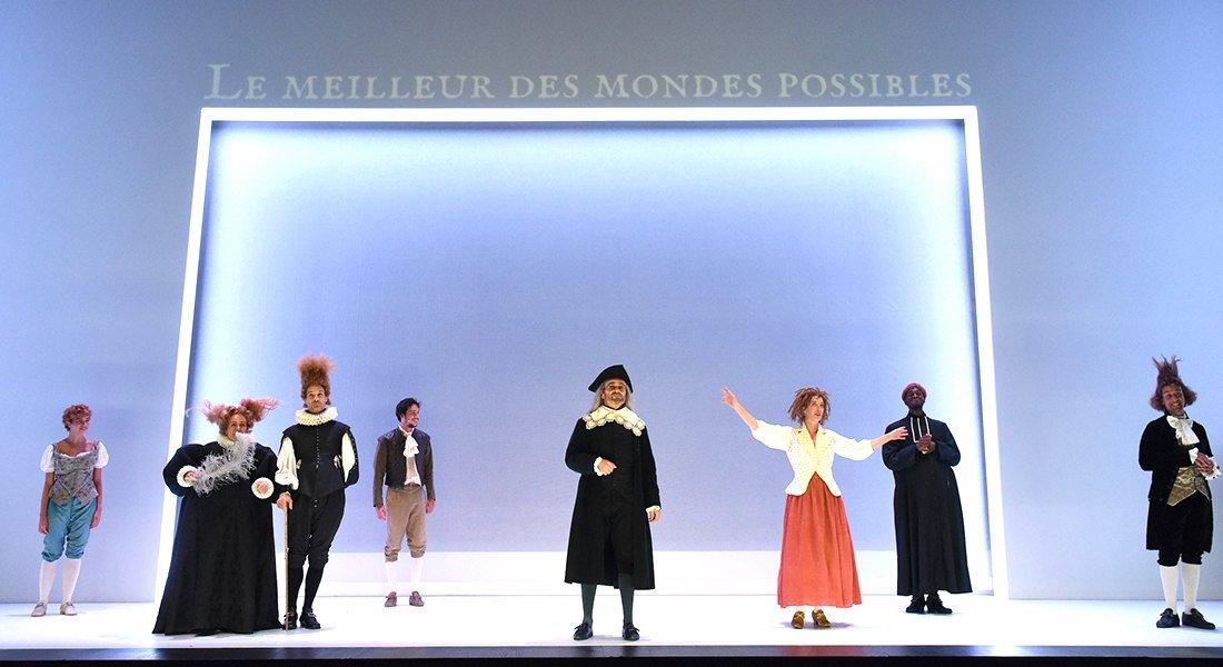Candide de Voltaire, mise en scène Arnaud Meunier - Critique sortie Théâtre SAINT ETIENNE Comédie de Saint-Etienne - Centre Dramatique National