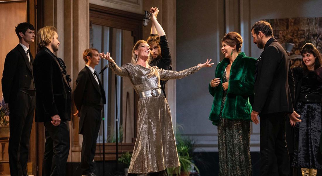 Le Côté de Guermantes d'après Marcel Proust, mise en scène de Christophe Honoré - Critique sortie Théâtre Paris Théâtre Marigny