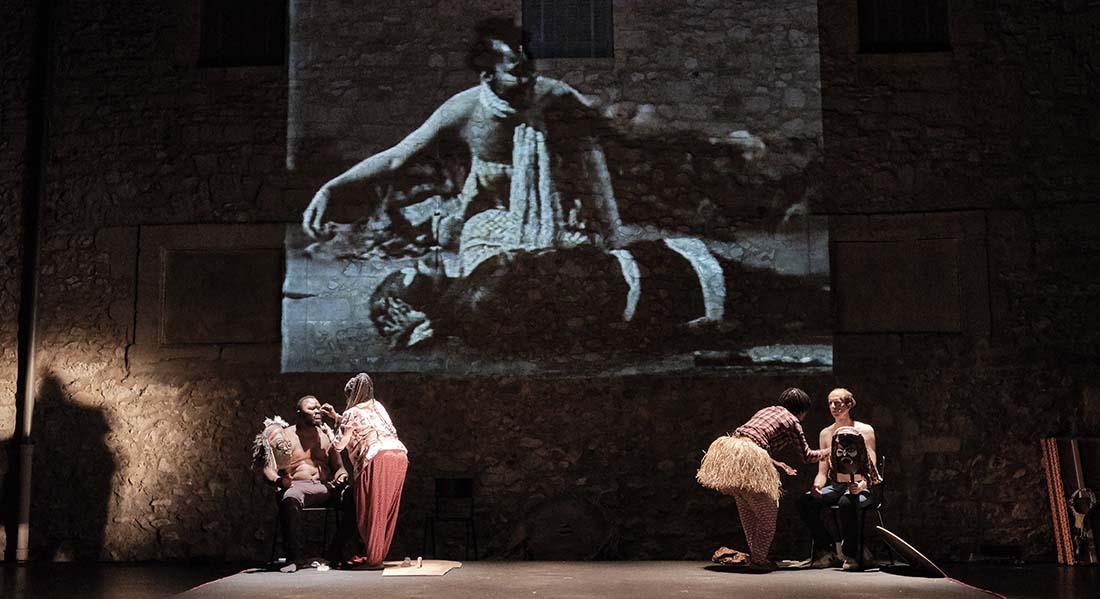 Histoire(s) du Théâtre II de Faustin Linyekula - Critique sortie Danse Paris Théâtre de la Ville - Théâtre des Abbesses