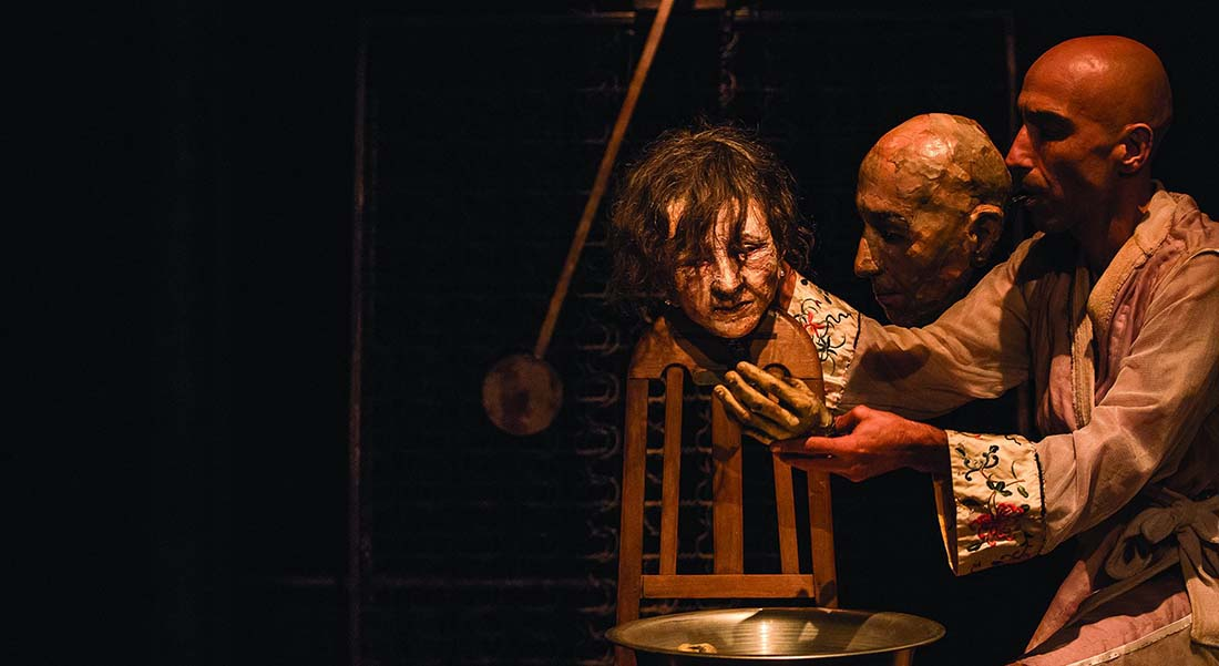 Gritos André Curti et Artur Luandra Ribeiro - Critique sortie Théâtre Herblay Théâtre Roger Barat