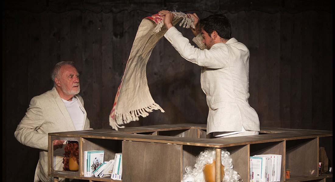 La Fontaine, assemblée fabuleuse de Jean de La Fontaine,  mise en scène de Nicolas Auvray - Critique sortie Théâtre Amiens Comédie de Picardie