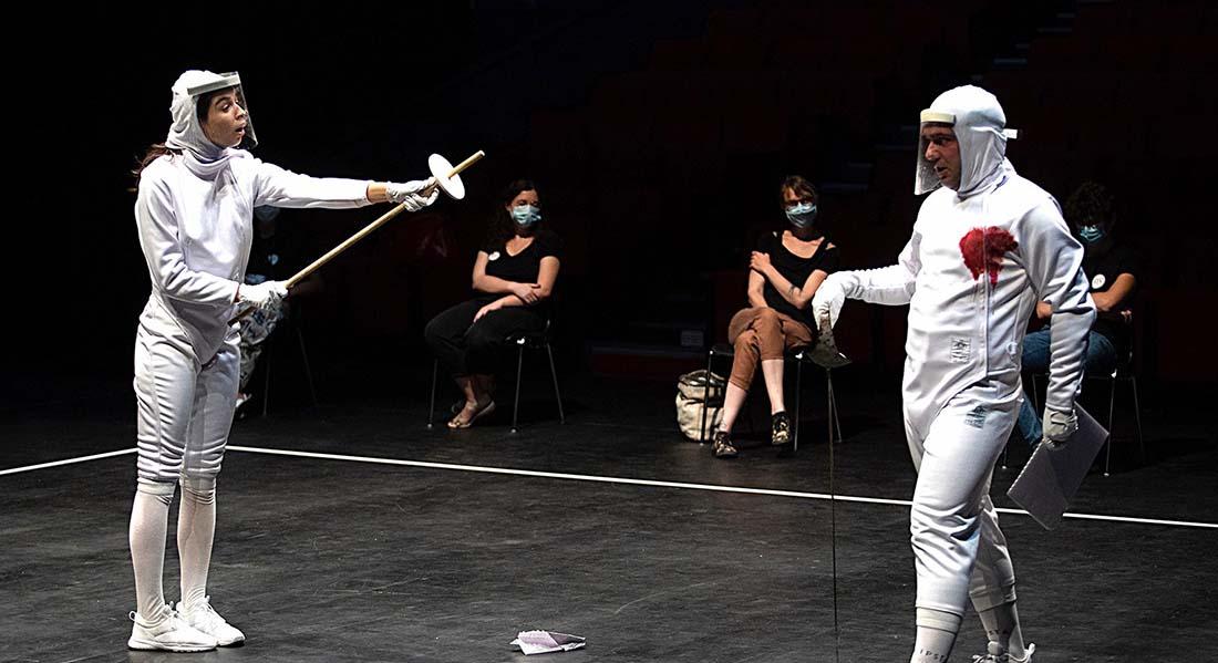 La Mouette (Je n'ai pas respecté le monopole) d'après Anton Tchekhov conception et mise en scène de Céline Champinot - Critique sortie  DIJON Théâtre Dijon Bourgogne - Centre Dramatique National