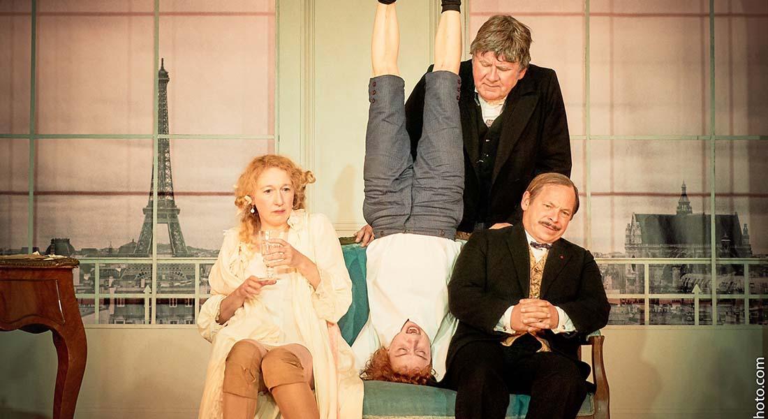 On purge bébé de Georges Feydeau, mise en scène d'Emeline Bayart - Critique sortie Théâtre Paris THEATRE DE L'ATELIER