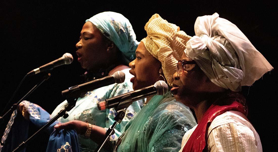Orchestre du Grand Bamako, dans le cadre du festival Africolor - Critique sortie Jazz / Musiques Nanterre Maison de la musique de Nanterre