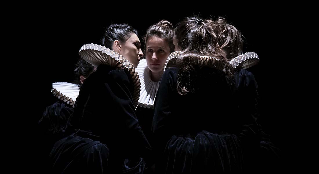 THE WORLD WAS ON FIRE de Nina Vallon - Critique sortie Danse Paris Festival Faits d'Hiver - Atelier de Paris - La Cartoucherie