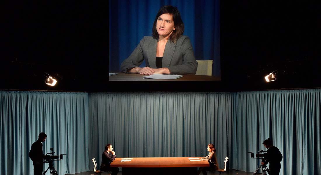 Rituel 4 : Le Grand Débat, de et mes Emilie Rousset et Louise Hémon - Critique sortie Théâtre Gennevilliers T2G - Théâtre de Gennevilliers