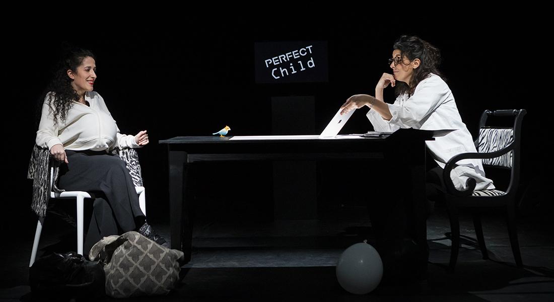 Et leurs cerveaux qui dansent, conception et interprétation Séphora Haymann et Vanessa Bettane - Critique sortie Théâtre Paris Plateaux Sauvages