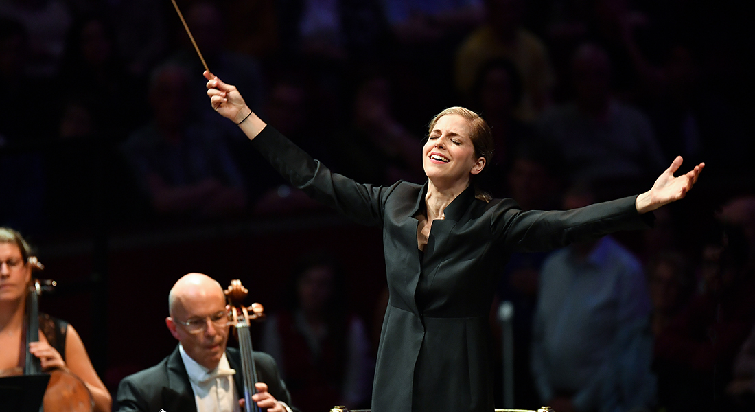 Karine Canellakis, de Brahms à Strauss - Critique sortie Classique / Opéra saint denis Basilique de Saint-Denis