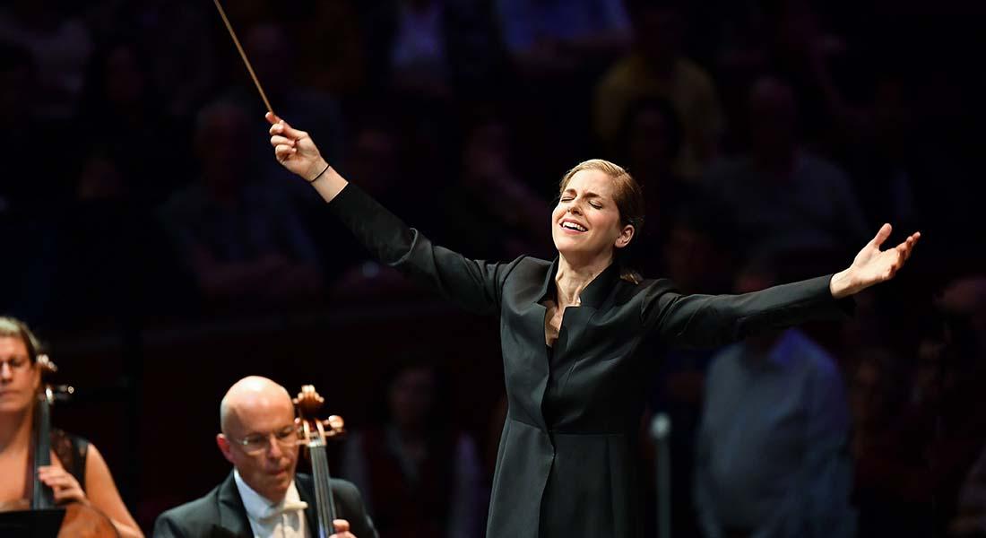 Karina Canellakis, de Brahms à Strauss - Critique sortie  saint denis Basilique de Saint-Denis