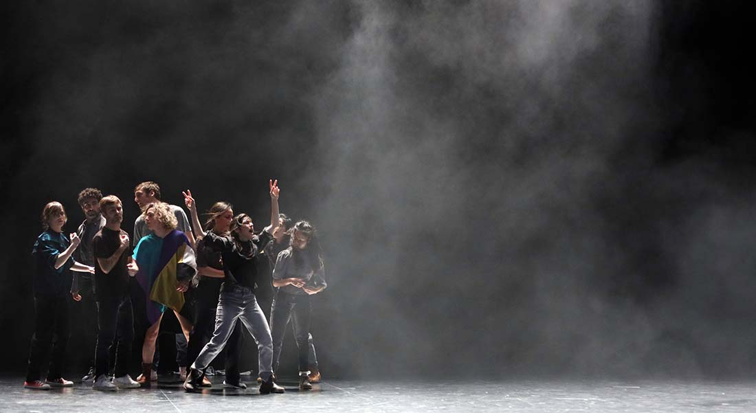 People United de Joanne Leighton - Critique sortie Danse Paris theatre de l'aquarium