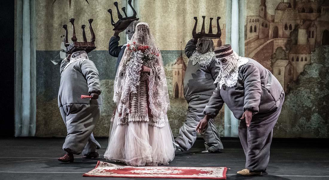 Samson de Brett Bailey - Critique sortie Théâtre Avignon Festival d'Avignon. Gymnase du lycée Aubanel