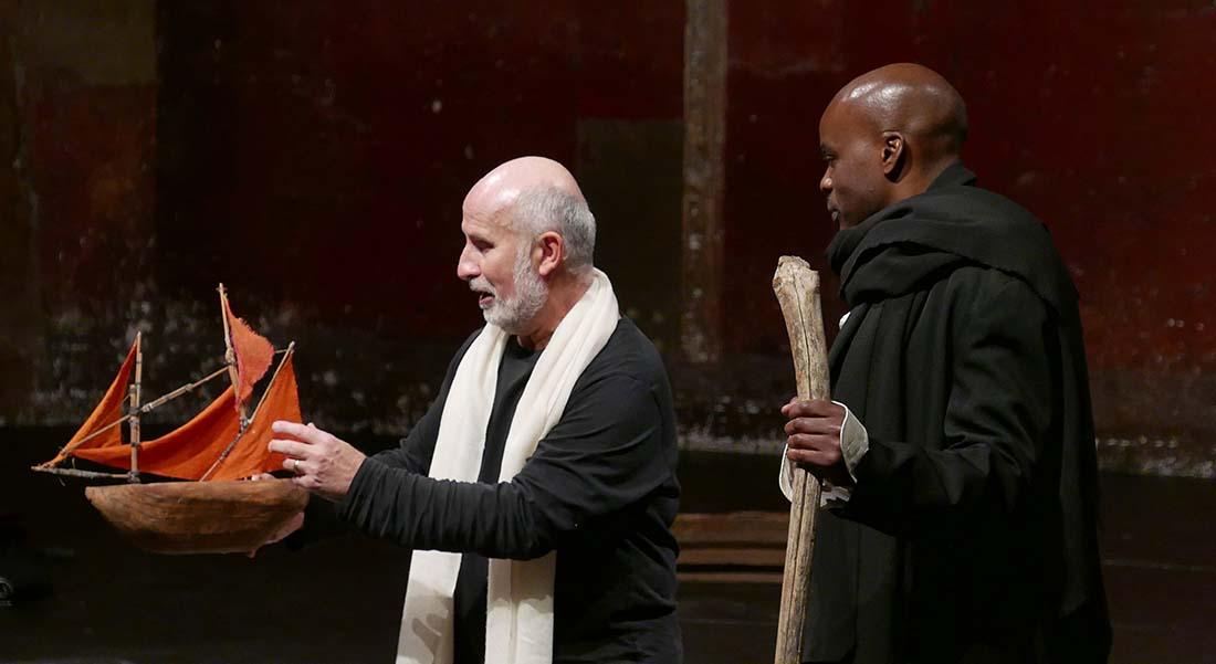 Tempest Project de Jean-Claude Carrière, adaptation et mise en scène Peter Brook et Marie-Hélène Estienne - Critique sortie Théâtre Montpellier Théâtre d'O