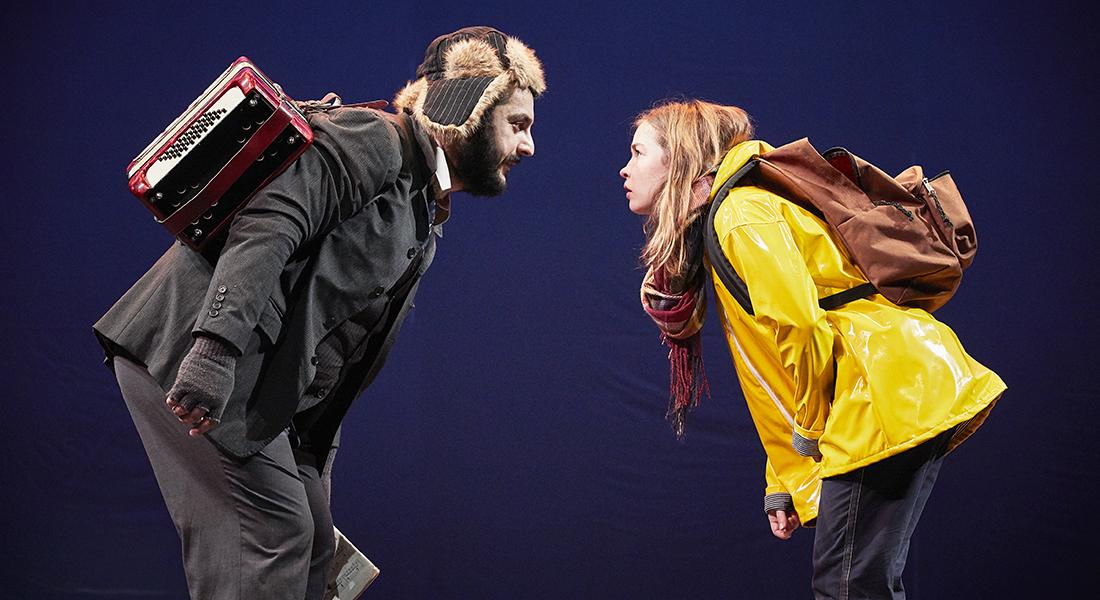 Thélonius et Lola de Serge Kribus, adaptation et mise en scène de Zabou Breitman - Critique sortie Théâtre Avignon Théâtre du Chêne Noir