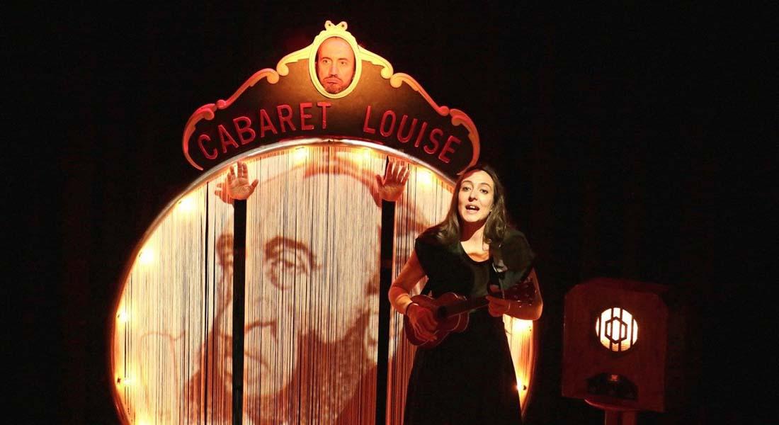 Cabaret Louise de Régis Vlachos et la comédienne Charlotte Zotto - Critique sortie Avignon / 2021 Avignon Avignon Off. La Luna