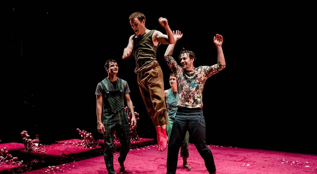 Le problème avec le rose d'Érika Tremblay-Roy, mise en scène de Christophe Garcia et Érika Tremblay-Roy - Critique sortie Théâtre Avignon Le Nouveau Grenier