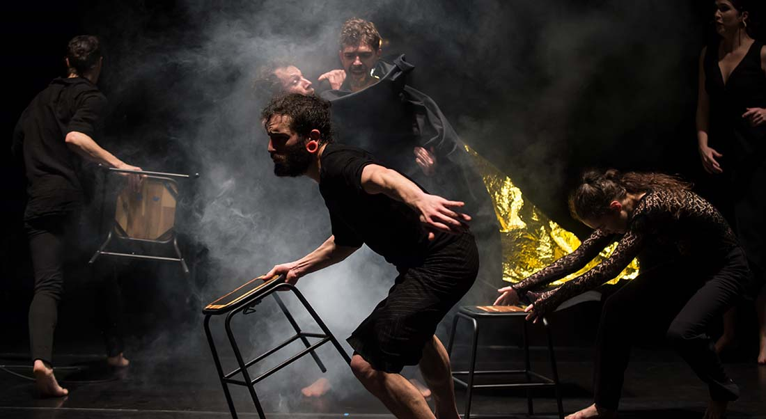 TumulTe de Bruno Pradet - Critique sortie Danse Avignon CDCN Les Hivernales