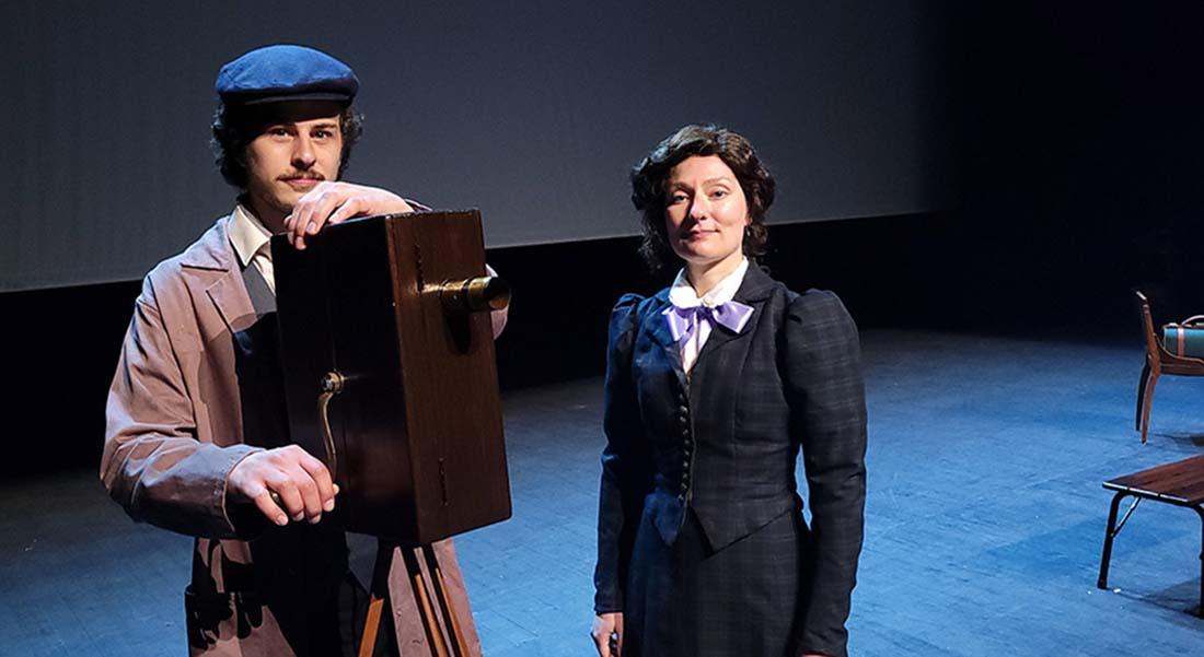 Alice, Mademoiselle Cinéma de Caroline Rainette, mise en scène Lennie Coindeaux et Caroline Rainette - Critique sortie Théâtre Avignon Théâtre des Lucioles