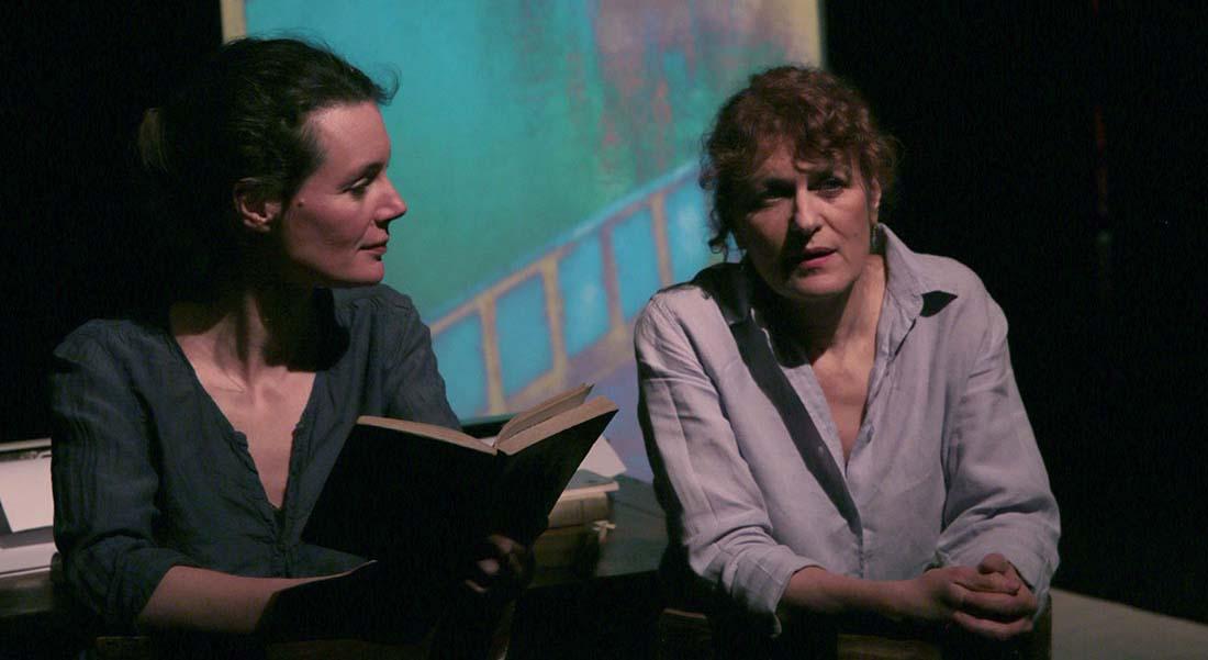 C'est bizarre l'écriture d'Awena Burgess et Orit Mizrahi - Critique sortie Avignon / 2021 Avignon Avignon off. Théâtre Transversal