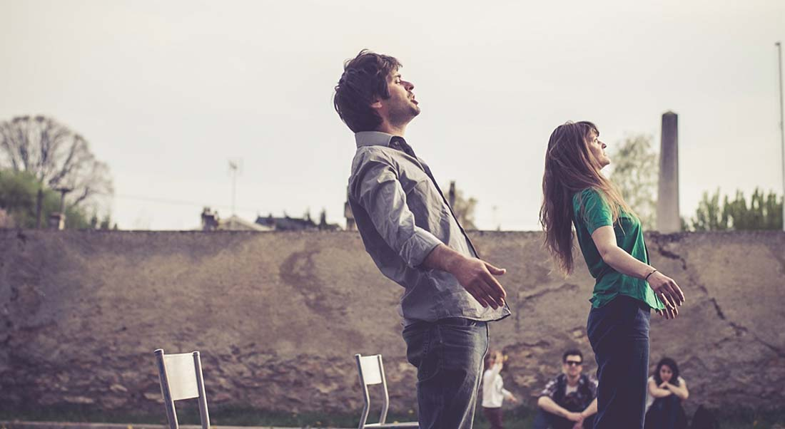 Ce qui m'est dû d'Héloïse Desfarges et Antoine Raimondi - Critique sortie Danse Avignon La Manufacture