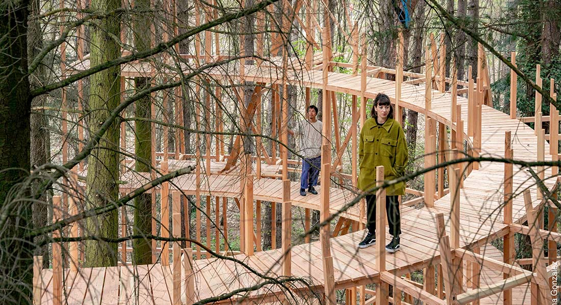 En-dessous, la forêt, mise en scène Feda Wardak et Jean-Yves Phuong - Critique sortie Danse Clichy-sous-Bois Ateliers Médicis