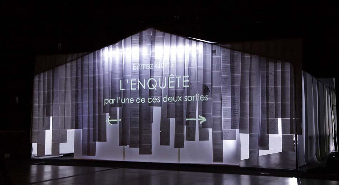L'Enquête de Sébastien Le Guen, mise en scène Nicolas Heredia - Critique sortie Théâtre Villeneuve-lès-Avignon Villeneuve-en-Scène