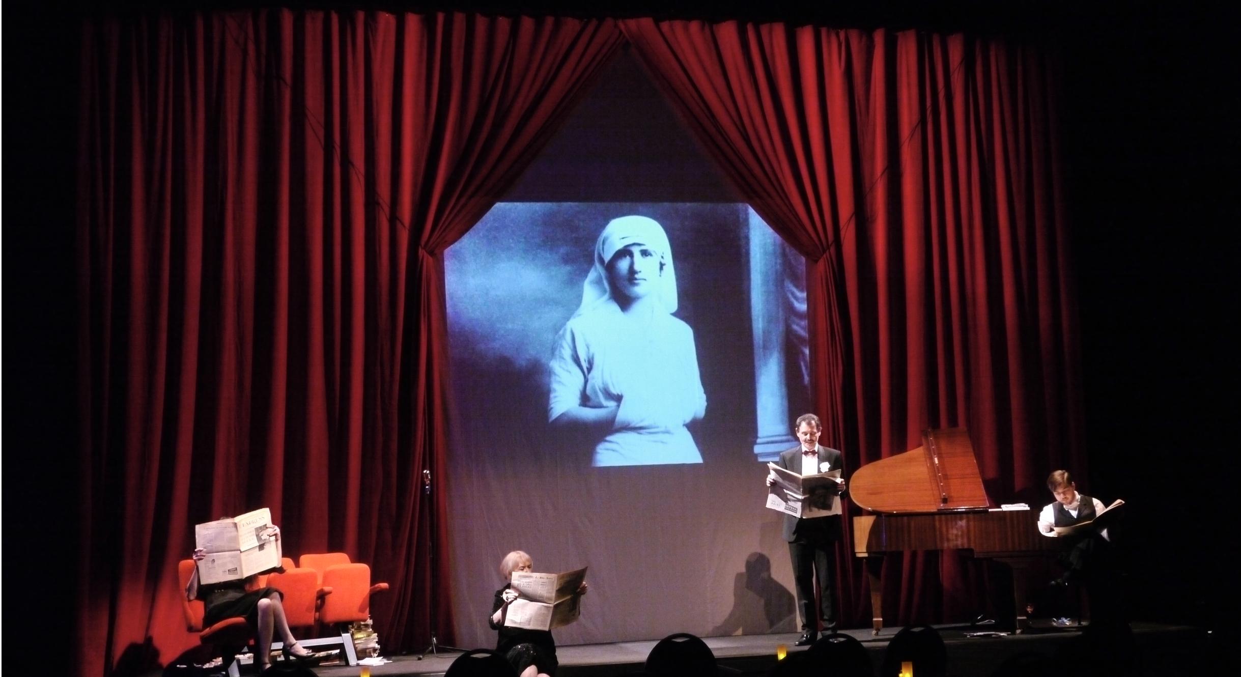 Françoise Sagan, Chroniques 1954-2003 - Critique sortie Théâtre Paris Artistic Théâtre