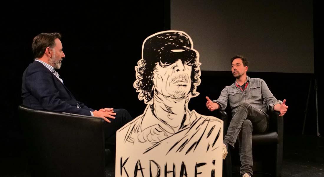 L'Homme qui tua Mouammar Kadhafi du Collectif Superamas - Critique sortie Théâtre Alfortville Théâtre-Studio d'Alfortville