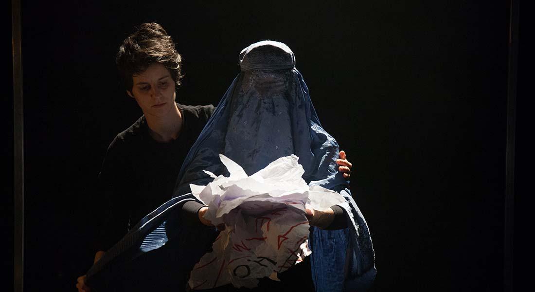Je Hurle d'Eric Domenicone et des femmes du Mirman Baheer - Critique sortie Théâtre Avignon Le 11. Avignon