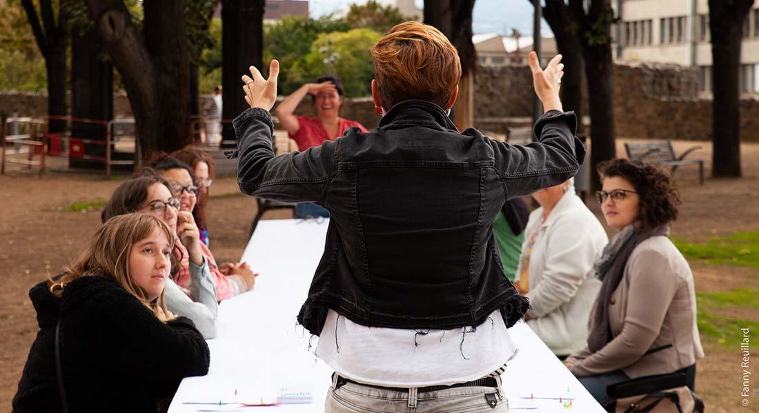 Les Cartographies de l'avenir & L'Hospitalité, et vous ? de Rachel Dufour et Chrystel Pellerin - Critique sortie Avignon / 2021 Avignon Avignon Off. Les Cartographies de l'avenir
