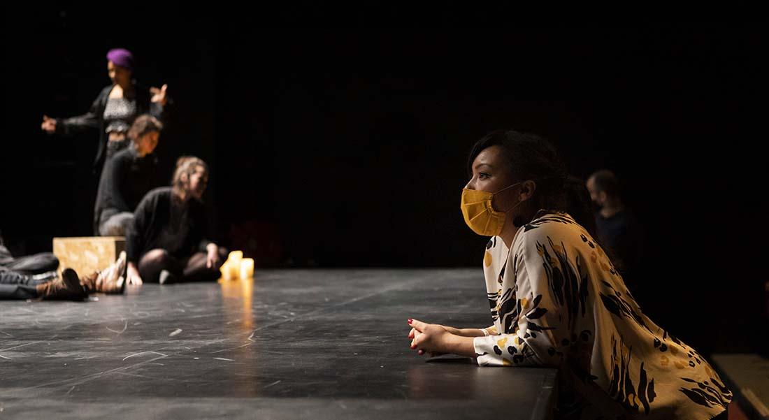 Penthésilé.e.s – Amazonomachies de Marie Dilasser, conception et mise en scène Laëtitia Guédon - Critique sortie Avignon / 2021 Avignon